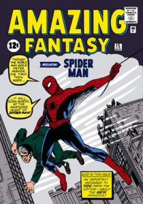 Spidey's first appearance.