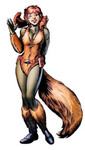 She is kinda sexy. Anyone else developing a squirrel fetish?