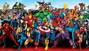 Reckon you know the names of all these Marvel characters?