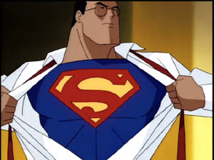 There are many very cool Superman animated movies and series out there. The best ones of course being when he teams up with Batman. Who is way cooler. Sorry Kal-El, birthday or not, facts are facts.