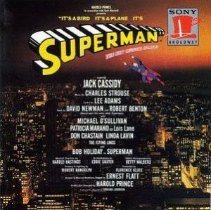 Original Broadway Cast Recording promotional poster.