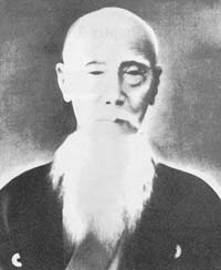 Sensei Sakugawa. Mighty in Martial skill and radical of beard.