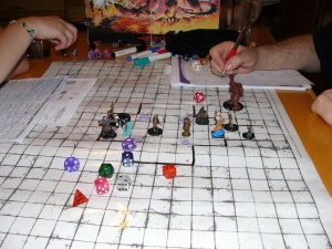 This s how you do the business D&d style. Non-D7D players will have to use that seldom come by stuff called imagination.