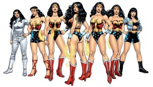 Wonder Woman over the years.