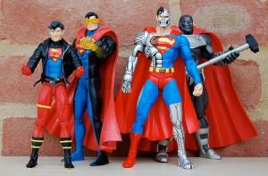 The characters are largely arrogant twats but the action figures are groovy.