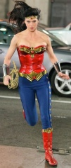 Wonder Woman going for a run.  Picture taken from the 2011 unaired pilot.